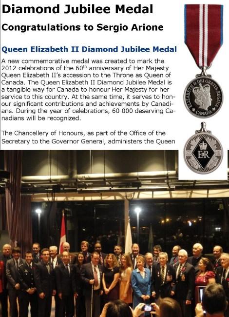 Queen Diamond Jubilee Medal