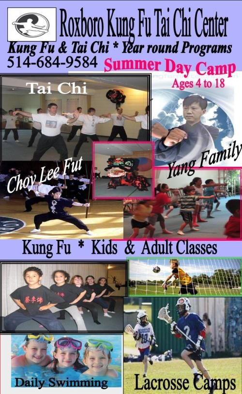 The Center offers many activities for all age groups from Yang family tai chi, Choy Lee Fut kung fu, Lohan chikung system, summer camps, teen programs, seniors classes, ms classes.