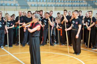 2016Sifu teaching pole in poland