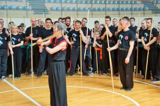 2016Sifu teaching pole in poland